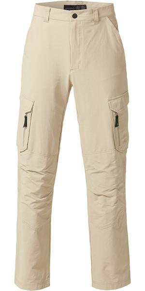 Pantaloni da navigazione Musto Essential UV Fast Dry vela leggera in pietra (86 cm) SE0781