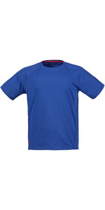 Musto Evolution Logo T-shirt Met Korte Mouwen In Surfblauw Se1361