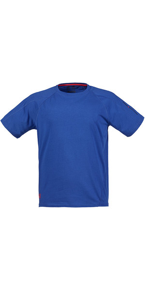 Musto Evolution Logo Kurzarm T-Shirt in SURF BLUE SE1361