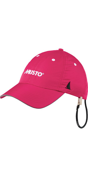Musto Fast Dry Crew Cap in colore rosa caldo AL1390
