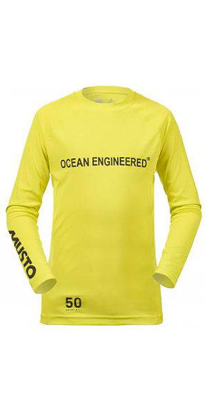 Musto Junior Insignia Dinghy T-shirt à manches longues SULFUR SPRING KS007J0