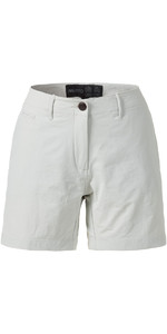 Musto Vrouwen Essential Uv Snel Dry 4 Pocket Shorts Platina Se2070