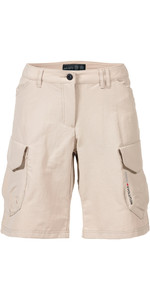 Musto Frauen Evolution Crew Bermuda Shorts Light Stone Se3340