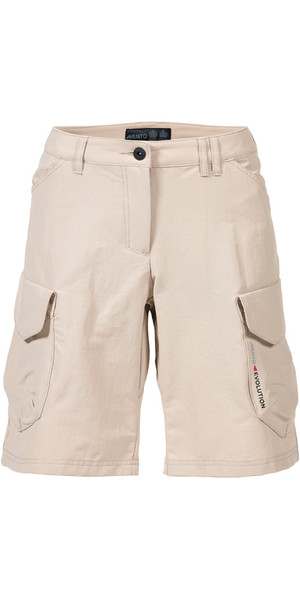 Musto Womens Evolution Crew Bermuda Shorts LIGHT STONE SE3340