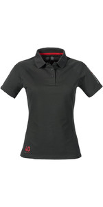 Musto Womens Evolution Sunblock Polo Top CARBON SE0483