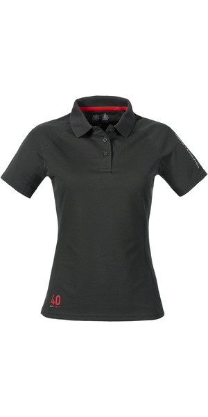 Musto Damen Evolution Sunblock Polo Top CARBON SE0483