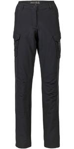 Musto Womens Essential UV Fast Dry Sailing Trousers Black LONG LEG (85cm) SE1561