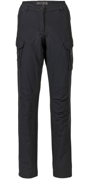 Musto Womens Essential UV Fast Dry Sailing Trousers Black LONG LEG (85cm) SE1561