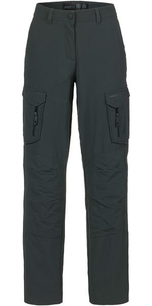Musto Womens Essential UV Fast Dry Sailing Pantaloni Carbon LONG LEG (85cm) SE1561
