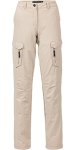 Musto Womens Essential UV Fast Dry Sailing Trouser Light Stone LONG LEG (85cm) SE1561