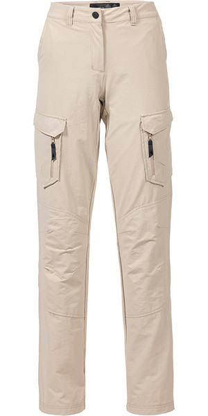 Musto Womens Essential UV Fast Dry Sailing Trousers Light Stone REGULAR LEG (79cm) SE1561