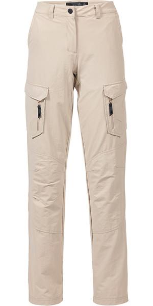 Musto Womens Essential UV Fast Dry Sailing Pantalone Light Stone LONG LEG (85cm) SE1561