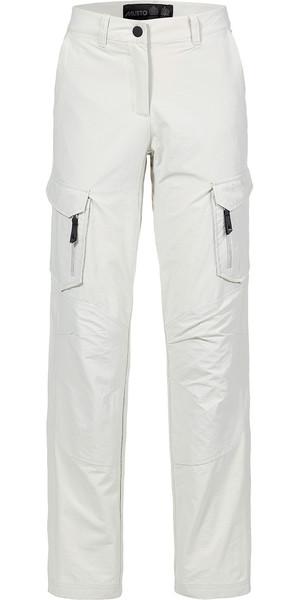 Musto Womens Essential UV Fast Dry Sailing Pantaloni Platinum REGULAR LEG (79cm) SE1561