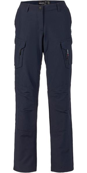 Musto Womens Essential UV Fast Dry Sailing Pantaloni True Navy LONG LEG (85cm) SE1561