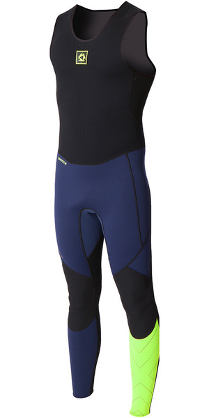 Mystic MVMNT Endurance SUP 1.5mm Flatlock Long John Wetsuit Navy 160595