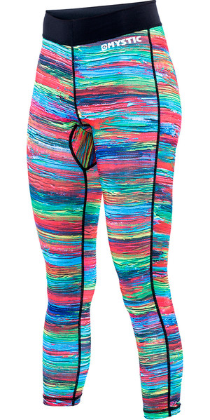 Ladies Mystic Dazzled Pantalone Lycra in Rainbow 160330