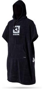 Mystic Skiftende Robe / Poncho i Sort 150135