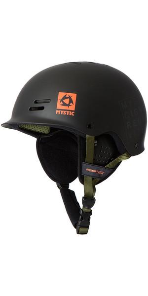 Casque Multisport Mystic Predator avec oreillettes - Logo Noir / Orange 140200