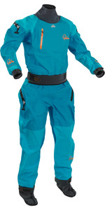 2018 Palm Womens Atom Whitewater Relief Zip Kayak Drysuit Aqua 11737