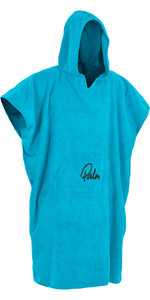 2020 Palm Hooded Changing Robe Poncho BLUE 11847