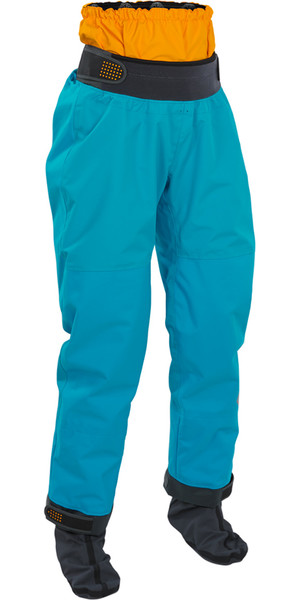 2018 Palm Ladies Atom Kayak Dry Pant en Aqua 11743