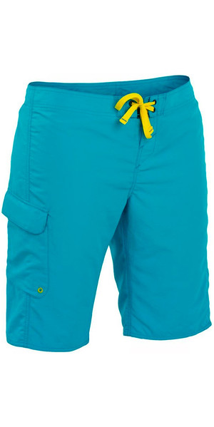 2018 Palm Damen Skyline Board Shorts Aqua 11752