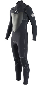 Rip Curl Flashbomb 3/2mm Chest Zip Wetsuit in BLACK WSU6MF