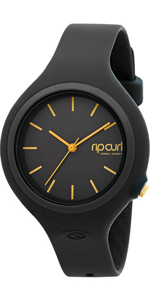 2019 Rip Curl Womens Aurora Surf Montre NOIR / OR A2696G