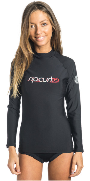 2018 Rip Curl Ladies Flashbomb manga larga Polypro Top WLA5AW