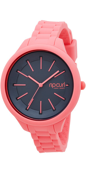 Rip Curl Damen Horizon Silikon Surf Watch in PEACH A2803G