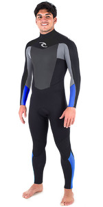 Rip Curl Omega 3/2mm GBS Back Zip Wetsuit BLUE WSM6LM