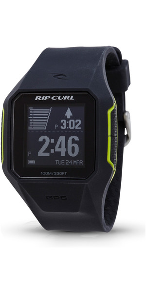 2018 Rip Curl Suche GPS Smart Surf Watch in Holzkohle A1111