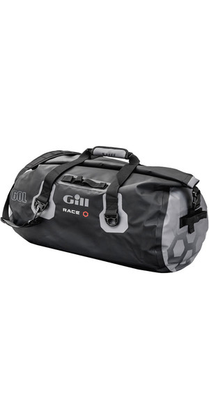 2018 Gill Race Team 60L Borsa impermeabile in grafite RS14