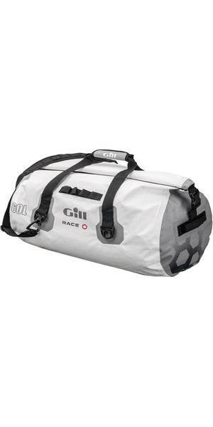 2018 Borsa impermeabile Gill Race Team 60L in bianco RS14