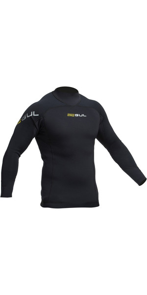 2019 Gul Code Zero 1mm Langærmet Thermo Top BLACK AC0057-B2