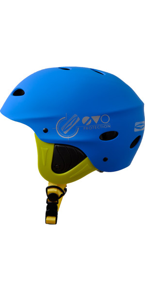 2018 Gul Evo Junior Casque de sports nautiques BLUE / FLURO YELLOW AC0104-B3