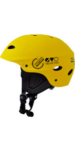 2019 Casque De Sports Nautiques Gul Evo Junior Jaune Ac0104-b3