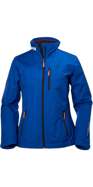 2018 Helly Hansen Damen Mid Layer Crew Jacke Olympian Blue 30317