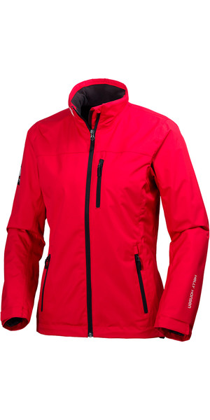 2018 Helly Hansen Ladies Mid Layer Crew Jacket RED 30317