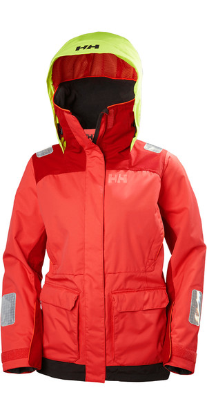2018 Helly Hansen Womens Newport Coastal Jacket CAYENNE 33904
