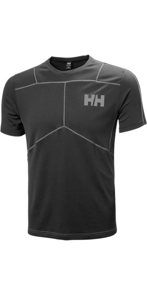 2018 Helly Hansen Lifa Aktives T-Shirt SCHWARZ 48310