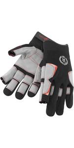 Henri Lloyd Deck Grip vingerhandschoen met lange vingers ZWART Y80055