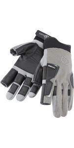 Henri Lloyd Pro Grip vingerhandschoen met lange vingers TITANIUM Y80053