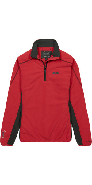 Musto Women's Essential 1/2 Zip Microfleece TRUE RED SE0136
