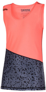Mystic Womens Diva Tank Top Quick Dry CORAL 170323