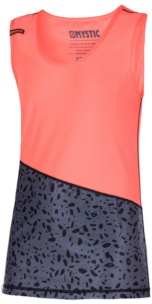 Mystic Femmes Diva Tank Top rapide Dry CORAL 170323
