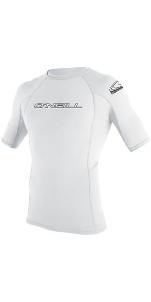 2019 O'Neill Basic Skins Gilet sans manches avec armatures et manches courtes BLANCHE 3341
