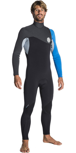 2017/18 Rip Curl Flashbomb 3/2mm Zip Free Wetsuit BLUE WSM7RF