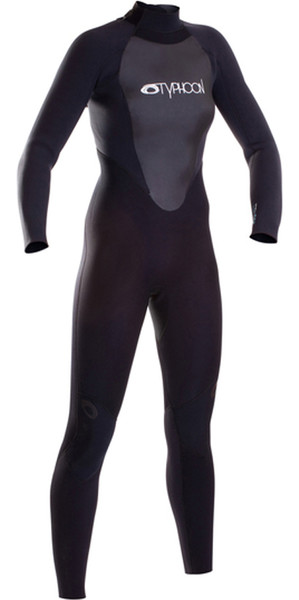 2018 Typhoon Ladies Storm 3mm GBS Wetsuit Black 250870