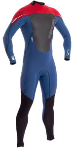 2019 Typhoon Zephyr 3mm Wetsuit Met Back Zip Kardinaal Rood 250710